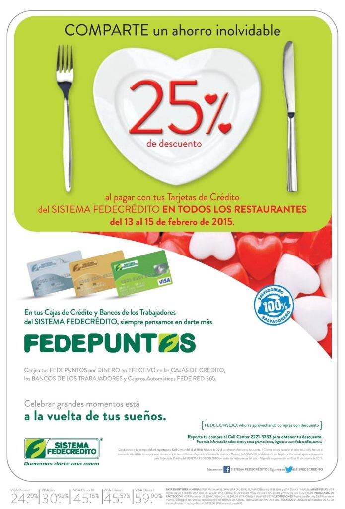 HOY ahorra en tu cena romantica del 14 de febrero