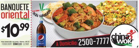 HOY viernes disfruta comida china wok - 20feb15