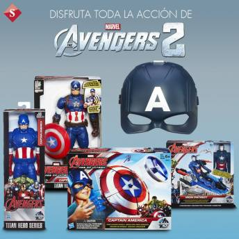 KIDS toys the avengers 2 SIMAN