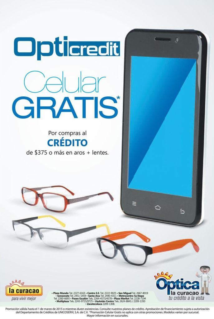 Opticredit te da celular gratis - 25feb15