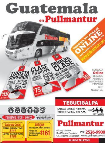 PULLMANTUR los mejores buses para viajar a centro america