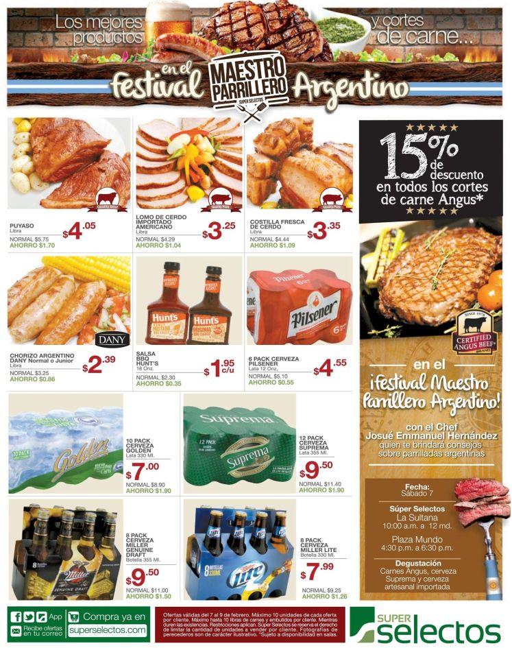 Parrillada argentina festival de carnes - 07feb15