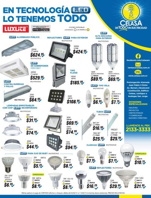 Reflectores LED para exteriores - 02ene15