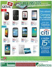 Super precios en telefonos en super selectos - 14feb15