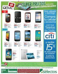Super precios siempre comunicados SELECTOS movil - 28feb15