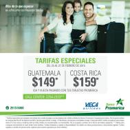 Tarifas especiales VECA AIRLNES promociones - 26feb15