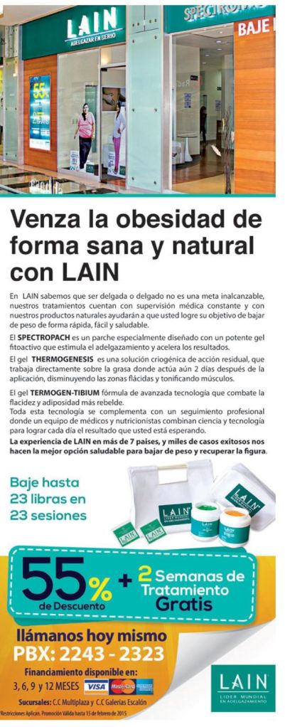 Termogen tibium tratamiento para bajar de peso LAIN - 09feb15
