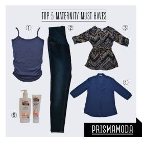Top 5 maternity must have products