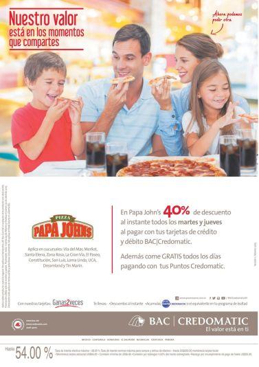 Vamos a coer PIZZA en familia 40 OFF - 24feb15