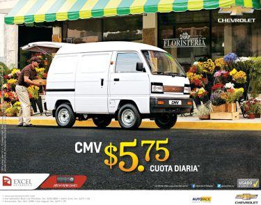 carros de trabajo panelitos chevrolet - 23feb15