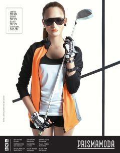 chica sporty trend apparel