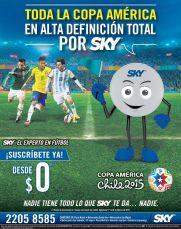 donde ver la copa america chile 2015