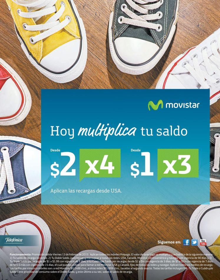 hoy es dia de multiplicar tu saldo MOVISTAR - 13feb15