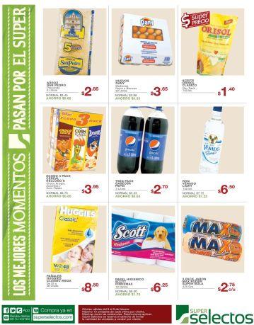 las ofertas del dia en super selectos - 06feb15