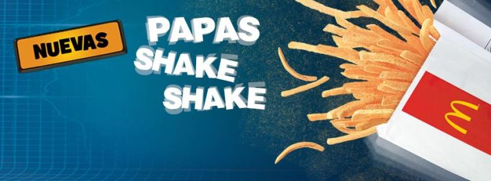 nueva PAPAS shake shake MC DONALDS el salvadorBurger King