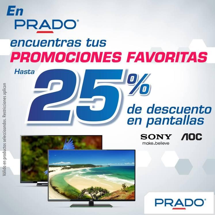 pantallas sony promocion favoritas en PRADO - 25feb15