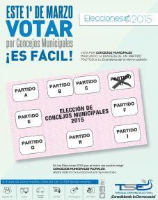 practica como votar 2015 elecciones - 16feb15