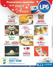 special promotions SAN VALENTINES day - 06feb15