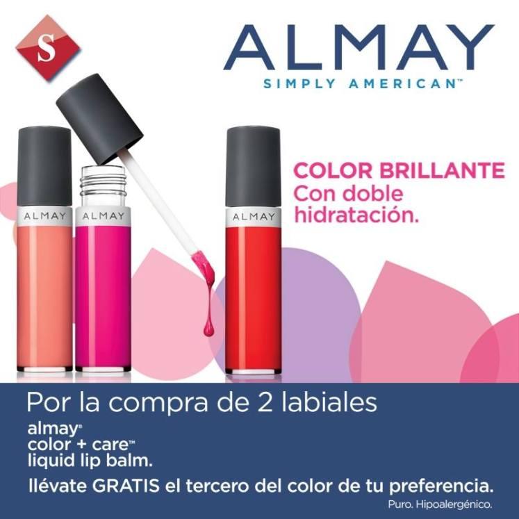 ALMAY simple american color care liquid lip balm