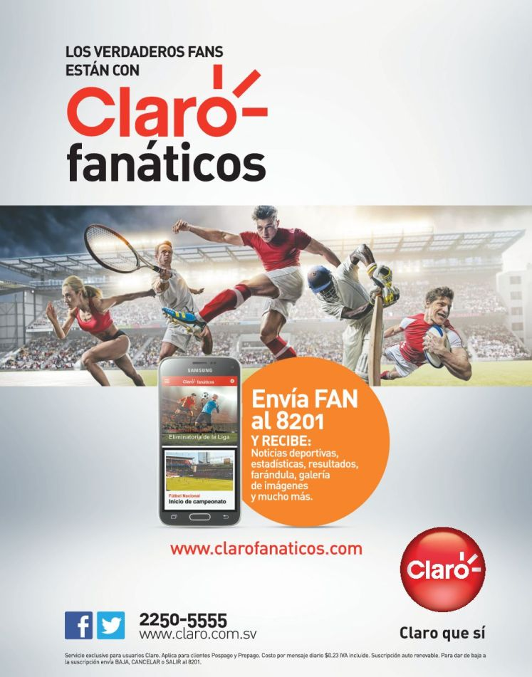 CLARO sports fans news