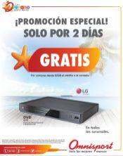 DVD Gratis solo por dias en tus compras OMNISPORT - 31mar15