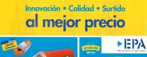 EPA ofrece Innovacion CALIDAD surtido al mejore precio marzo 2015