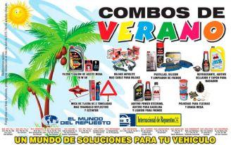 El mundo del Repuesto COMBOS de VERANO para tu carro - 30mar15