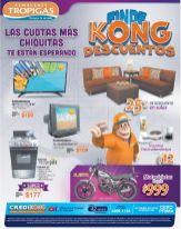 Fin de KONG descuentos tropigas en todo el salvador - 27mar15