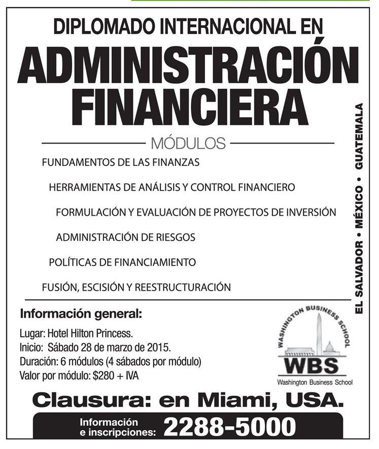 Finance managment course  USA miami