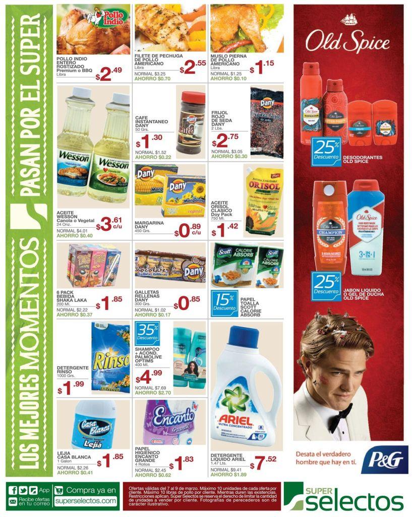 Fragancias OLD SPICE desodorantes - 07mar15