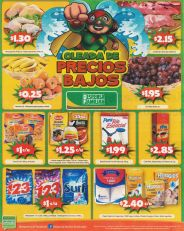 Frutas tropicales babano uva manzana OFERTAS despensa familiar - 13mar15