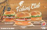 Hamburquesas de pescado de BURGER KING