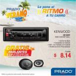 KENWOOD car audio system ofertas PRADO - 17mar15