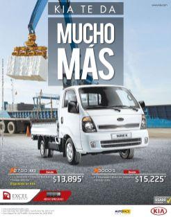 KIA motors te da muco mas K2700 4x2 truck - 03mar15