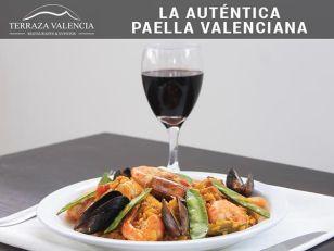 La autentica paella valenciana TERRAZA VALENCIA