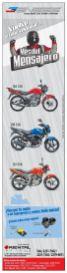 Motos economicas y rapidas para mensajeros - 09mar15