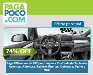 Ofertas del DIA pagapoco.com CUPON para tu auto