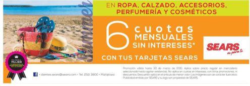 Perfumeria y Cosmeticos en promociones almacenes SEARS - 20mar15