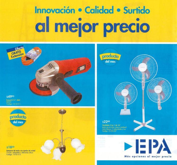 Productos del mes marzo 2015 FERRETERIA EPA el salvador