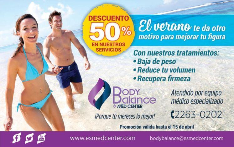 Recupera la firmeza de tu pies y cuerpo BODY BALANCE discount - 18mar15