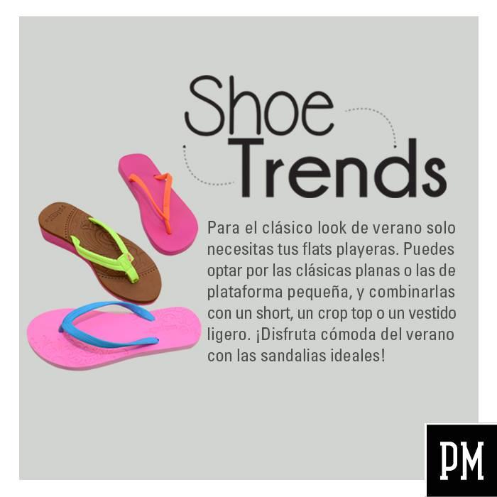 SHOE trends sandalias playerras para el verano