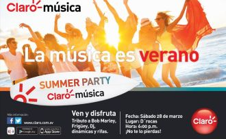SUMMER PARTY co Claro musica no faltes - 20mar15