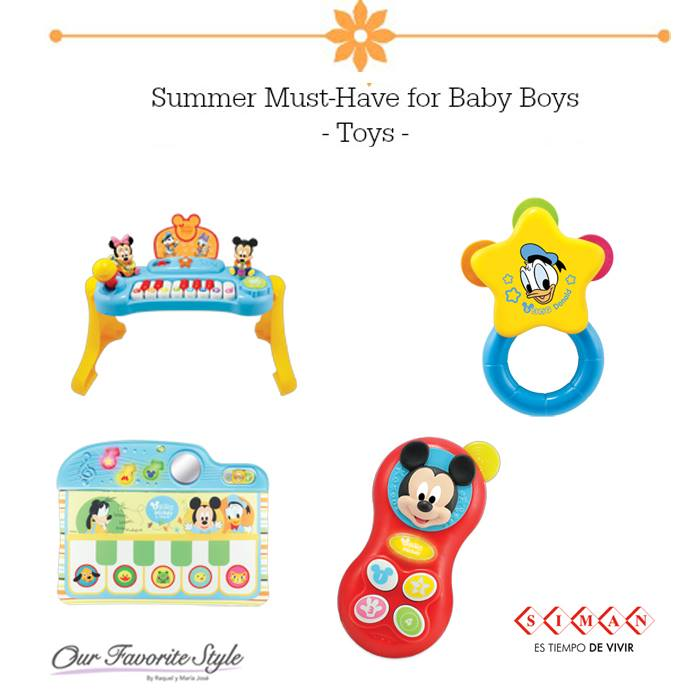 SUMMER toys for kids and babies