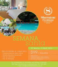 Semana santa 2015 en hotel sheraton presidente