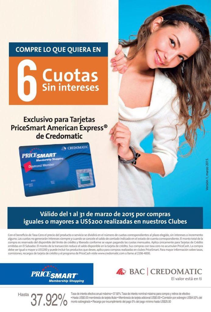 Tarjeta de credito PRICESMART american express benefits