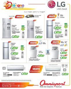 Tdodas tus compras de electrodomestico en OMNISPORT tiene premio - 30mar15