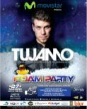 electronic party foam TUJAMO dj