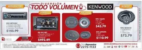 ofertas en sistemas de audio y DVD video para autos - 23mar15