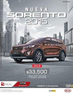 un auto con gran espacio new SORENTO 2015 by KIA motors