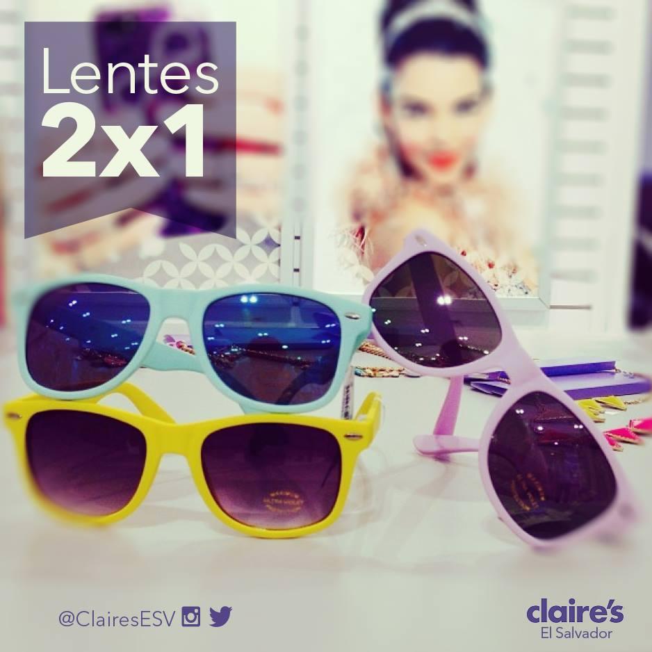 Accesorios CLARIES el salvador promociones lentes de verano 2x1
